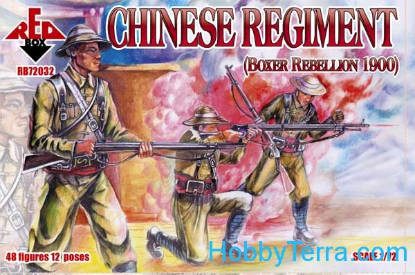 Red Box  72032 Chinese Regiment, Boxer Rebellion 1900