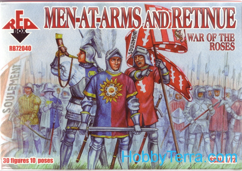 Men-at-Arms and Retinue, War of the Roses 1