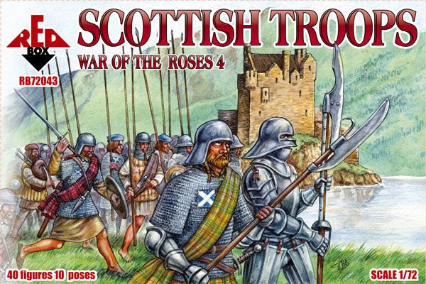 Red Box  72043 Scottish troops, War of the Roses 4