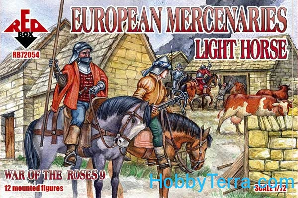 European mercenaries (light horse), War of the Roses 9