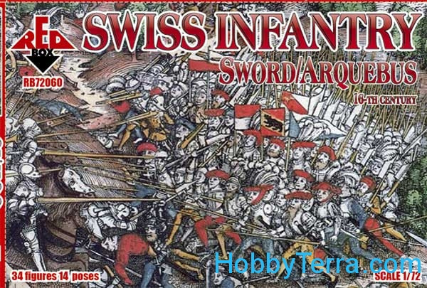 Swiss Infantry (Sword/Arquebus), 16th century