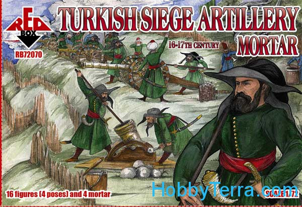 Turkish Siege Artillery. Mortar, 16th century
