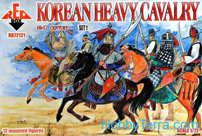 Red Box  72121 Korean heavy cavalry, 16-17th century, set 1
