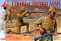 Colonial British Army, 1890
