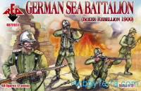 German sea battalion, Boxer Rebellion 1900