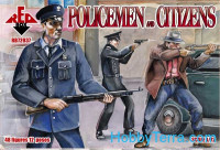Policemen and citizens