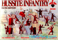 Red Box  72039 Hussite Infantry, 15th century