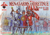 Men at arms and retinue. War of the roses