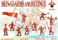 Red Box  72040 Men at arms and retinue. War of the roses