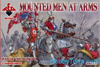 Mounted Men at Arms,  War of the Roses 6
