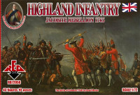 Highland Infantry 1745. Jacobite Rebellion