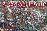 Swiss pikemen, 16th century