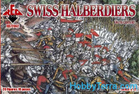 Swiss halberdiers, 16th century