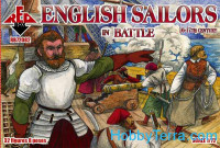 English sailors in battle, 16-17th century