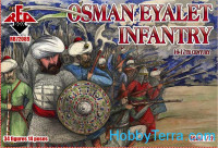 Osman Eyalet infantry, 16-17th century