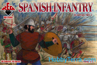 Spanish infantry, 16th century, set 1
