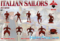 Red Box  72105 Italian Sailors, 16-17th century, set 1