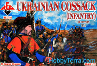 Ukrainian cossack infantry, 16th century, set 1