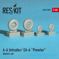 Wheels set 1/48 for A-6 Intruder / EA-6 Prowler