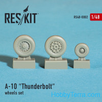 Wheels set 1/48 for A-10 Thunderbolt