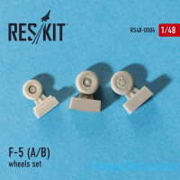 Wheels set 1/48 for F-5 (A/B)