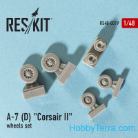 Wheels set 1/48 for A-7 (D/E) Corsair II