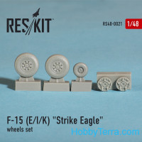 Wheels set 1/48 for F-15 (E/I/K) Strike Eagle