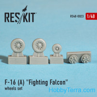 Wheels set 1/48 for F-16 (A) Fighting Falcon
