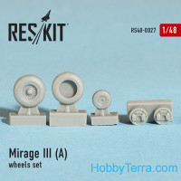 Wheels set 1/48 for Mirage III (A)