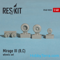 Wheels set 1/48 for Mirage III (B,C)