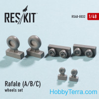 Wheels set 1/48 for Rafale (A/B/C)