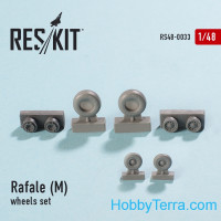 Wheels set 1/48 for Rafale (M)