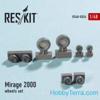 Wheels set 1/48 for Mirage 2000