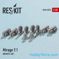 Wheels set 1/48 for Mirage F.1