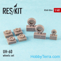 Wheels set 1/48 for UH-60 (all versions)