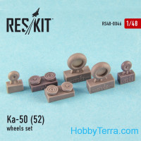 Wheels set 1/48 for Ka-50/52 (all versions), for Italeri/Revell kit