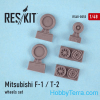 Wheels set 1/48 for F-1/T-2