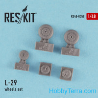 Wheels set 1/48 for L-29, for AMK kit