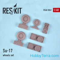 Wheels set 1/48 for Su-17