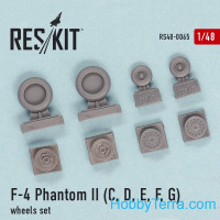 "Wheels set 1/48 for F-4C/D/E/F ""Phantom II"""