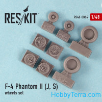 Wheels set 1/48 for F-4 Phantom II (J, S)