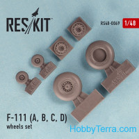 Wheels set 1/48 for F-111 (A, B, C, D)