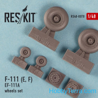 Wheels set 1/48 for F-111 (E, F) / EF-111A