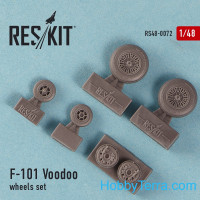 "Wheels set 1/48 for F-101B ""Voodoo"""