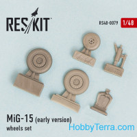 Wheels set 1/48 for MiG-15 (early version)