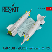 Guided bomb KAB-500L (500kg) (2 pcs) for (Su-24/30/34, MiG-27, MiG-29SMT, YAK-130)