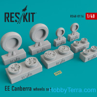 Wheels set 1/48 for EE Canberra