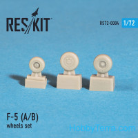 Wheels set 1/72 for F-5 (A/B)