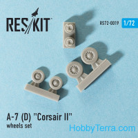 Wheels set 1/72 for A-7 (D/E) Corsair II
