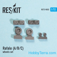 Wheels set 1/72 for Rafale (A/B/C)
